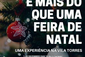 1ª Feira de Natal da Vila Torres acontece neste domingo, com oficinas, exposição de fotos e roda de conversa com venezuelanos