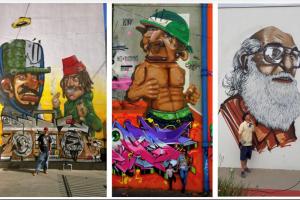 Grafite e skate unem forças em Curitiba