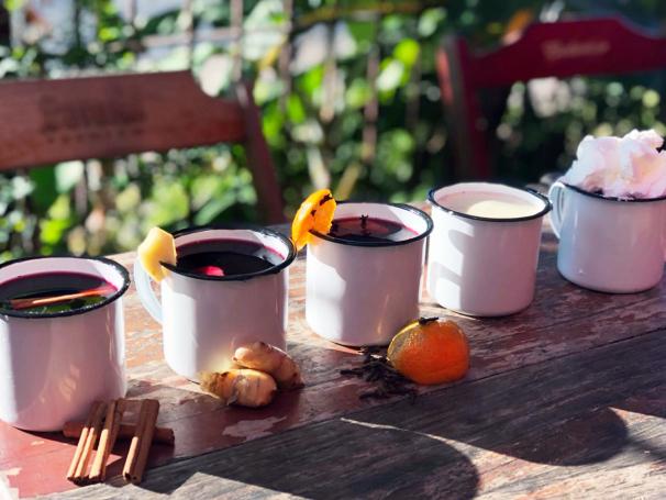 As porções de quentão e de pinhão estarão disponíveis durante todo o inverno.