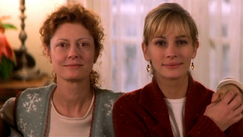 Susan Sarandon e Julia Roberts, em Lado a Lado (1998), de Chris Columbus.