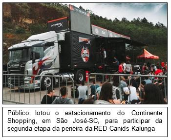 O truck percorre o País
