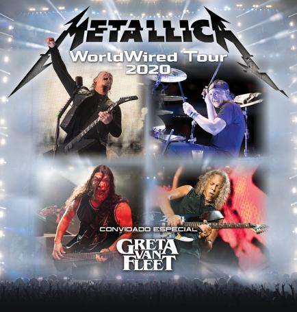 Turnê do Metallica pelo Brasil