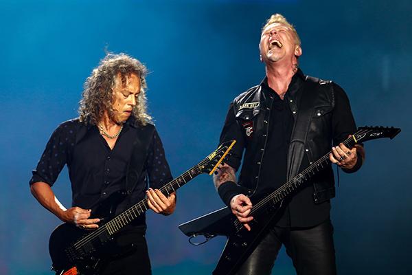 Metallica e  Greta Van Fleet em 23 de abril de 2020
