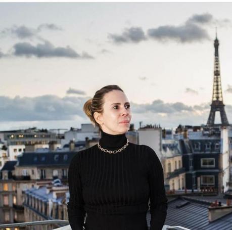 Ana Clara registrou o isolamento em Paris