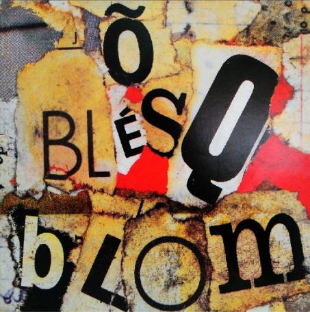 Feita de forma artesanal, a capa de Õ Blésq Blom resume a criatividade do álbum.