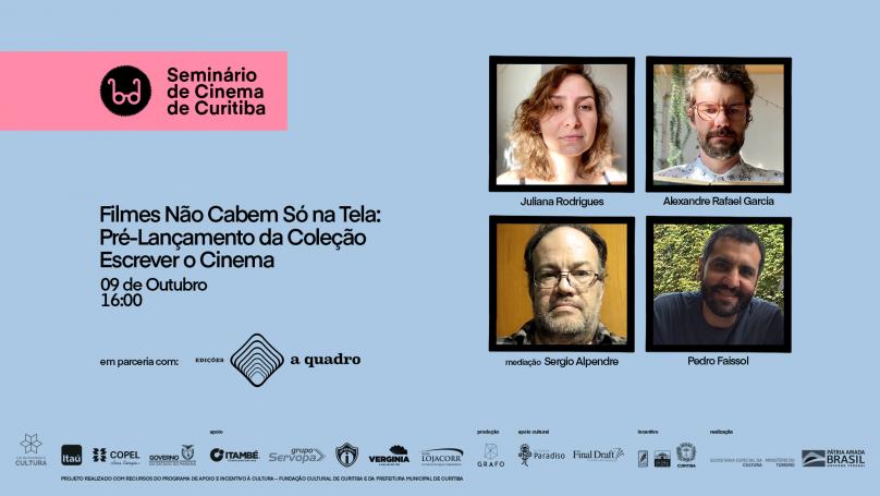 Cartaz do Seminário de Cinema de Curitiba