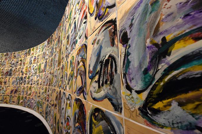 Schwanke, Uma Poética Labirintica.Museu Oscar Niemeyer (MON).Curitiba, 27 de abril de 2021