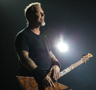 James Hetfield, vocalista e guitarrista do Metallica: ano em turnê fez mal para saúde mental do músico