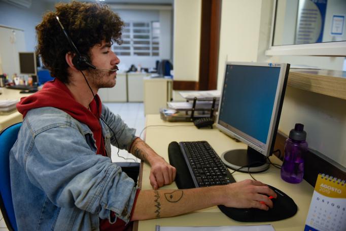 David Zavorize, 18 anos: aprendizagem como uma oportunidade para impulsionar a carreira