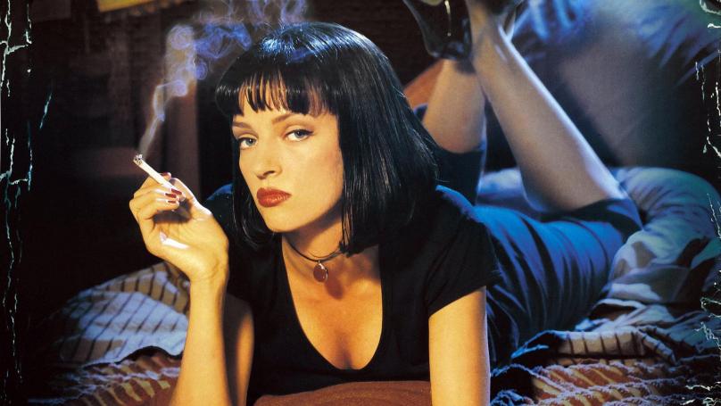 Uma Thurman, como Mia Wallace.