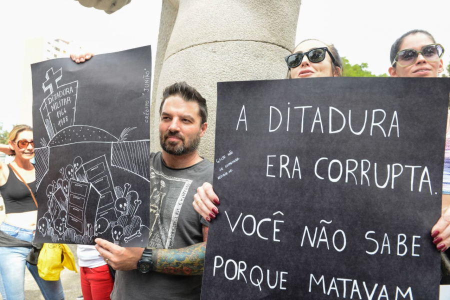 Manifestação 'Ditadura Nunca Mais'
