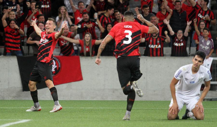 Athletico x Santos na Arena da Baixada