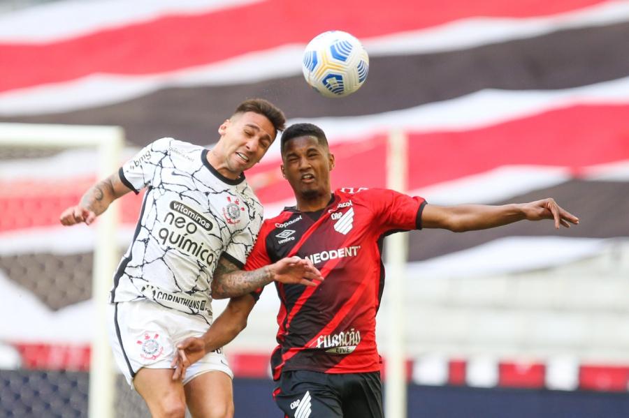Athletico 0x1 Corinthians, na Arena