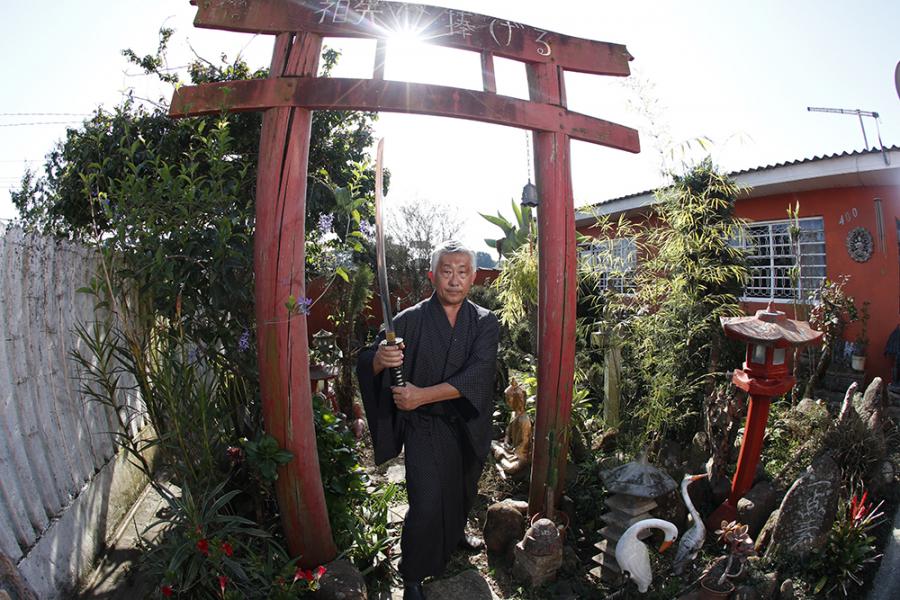 Edson Suemitsu, o último samurai curitibano