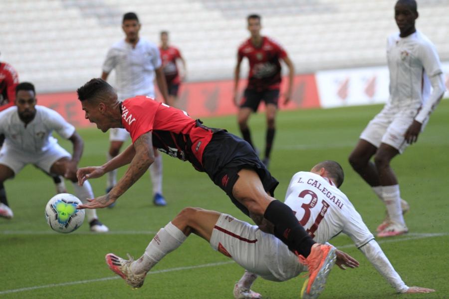 Athletico x Fluminense, na Arena da Baixada