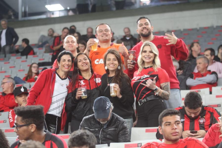 Athletico x PSTC, na Arena
