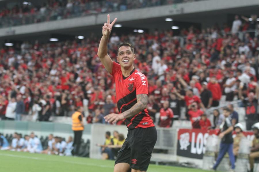 Athletico 1x1 Paraná Clube, na Arena
