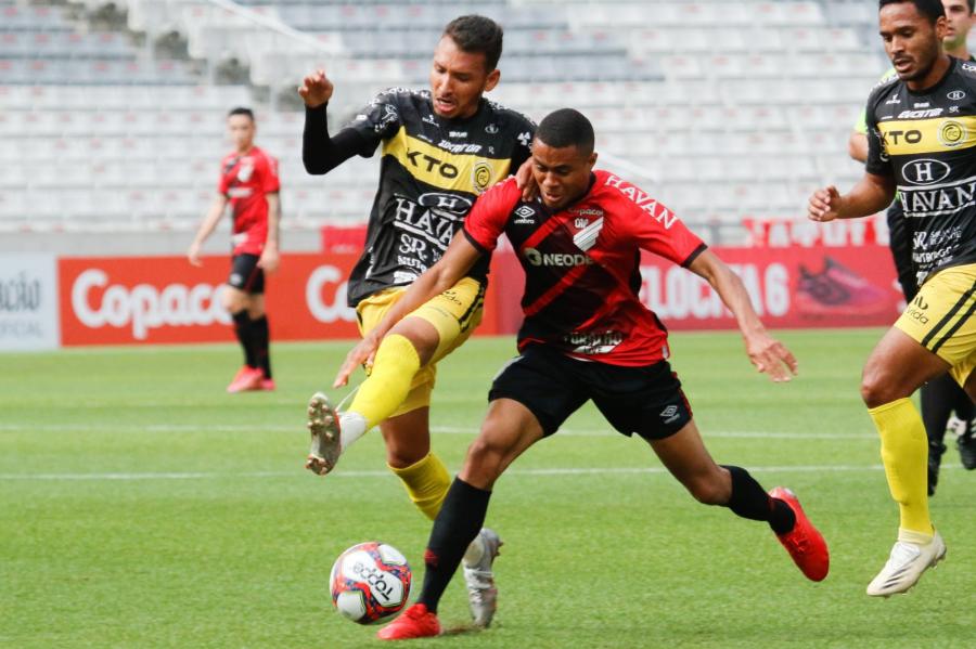 Athletico 1x1 FC Cascavel, na Arena