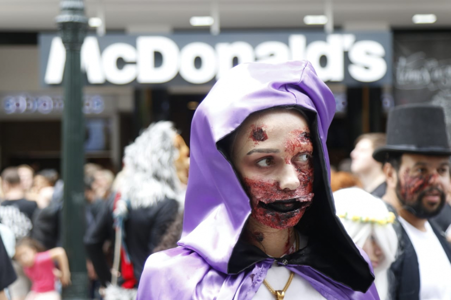 Zombie Walk 2020 em Curitiba