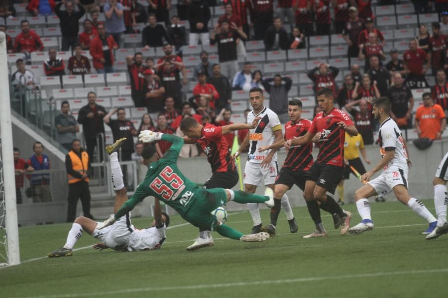 Athletico x Vasco na Arena da Baixada