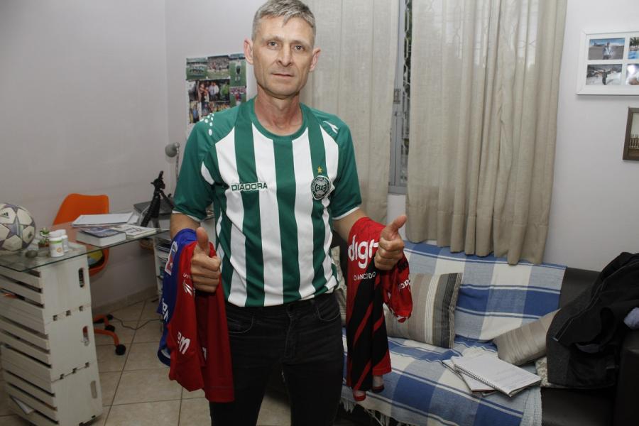 Edson Walek, o Polaco, campeão por Coritiba e Paraná Clube