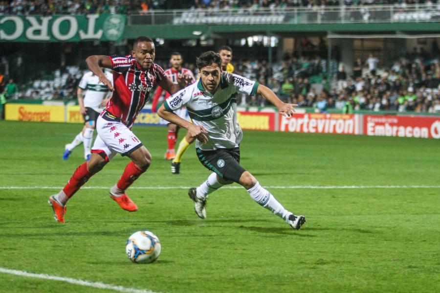 Coritiba x Botafogo, no Couto Pereira
