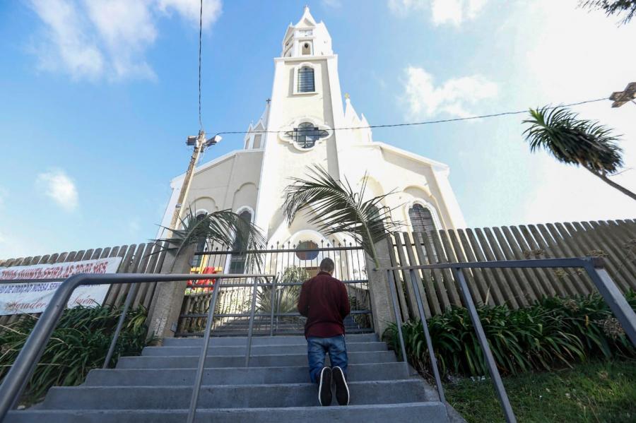 Domingo de Ramos na Igreja da Barreirinha