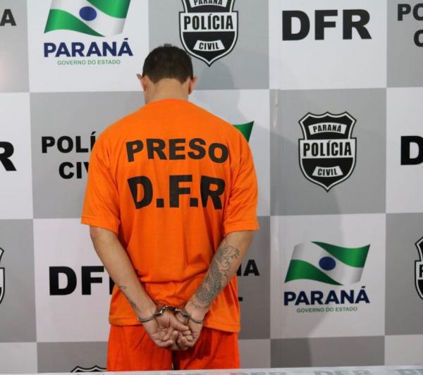 Suspeito foi preso no bairro Tatuquara, na capital.