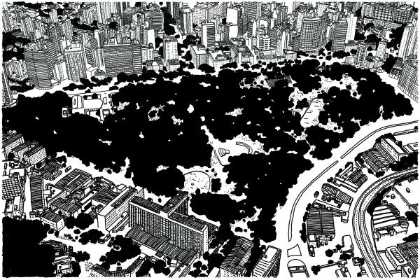 Mapa Parque Municipal, por J\u00e3o.