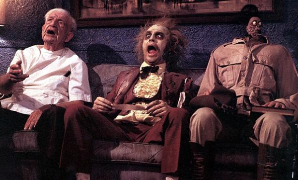 Beetlejuice - Os Fantasmas se Divertem, de Tim Burton.