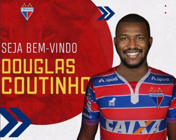 Douglas Coutinho \u00e9 apresentado pelo Fortaleza