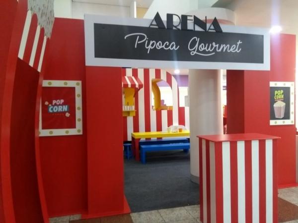 Arena Pipoca Gourmet.