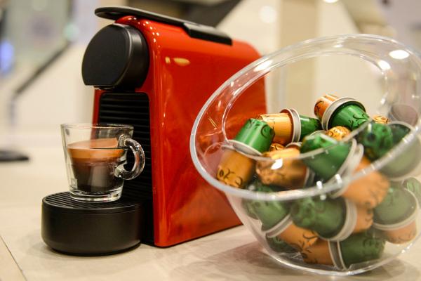 Cafeteiras como pr\u00eamio