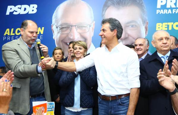 """""""O ex-governador Beto Richa (PSDB): Cida n\u00e3o compareceu \u00e0 conven\u00e7\u00e3o"""""""