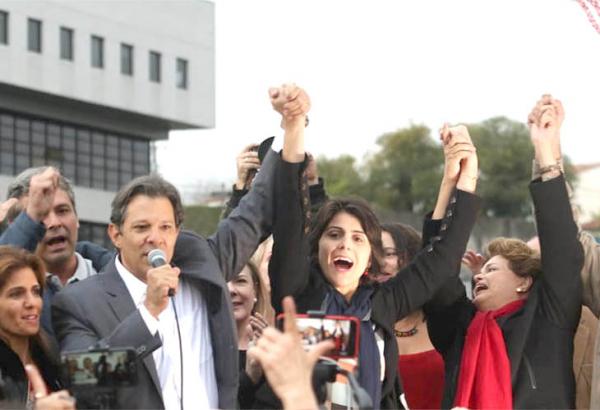 PT confirma Haddad como candidato à Presidência