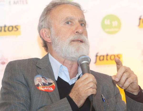 Dr Rosinha, candidato do PT ao governo