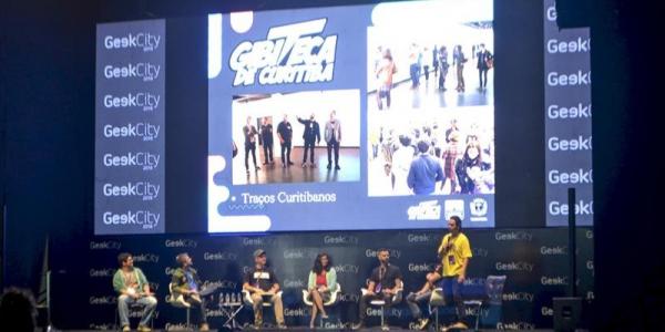 Encontro do Geek City realizado em Curitiba no come\u00e7o de setembro