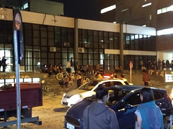 """Foto da matéria """"Rapaz com boné do MST é agredido perto da UFPR, no Centro de Curitiba"""""""