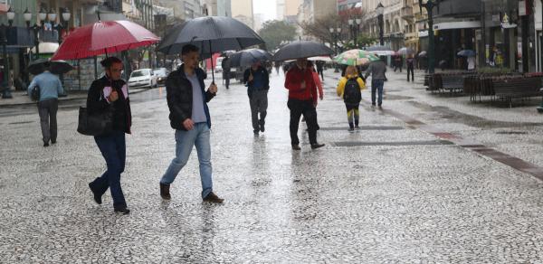 Curitiba molhada nos \u00faltimos dias