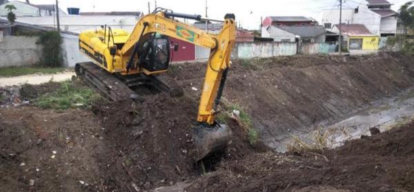 Obras nos rios fazem parte do mutir\u00e3o do dia 31 no Boqueir\u00e3o