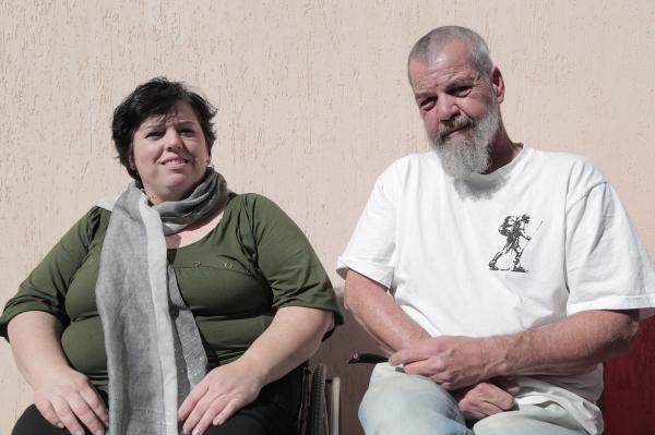 Os pesquisadores musicais Liane Guariente e Plinio Silva