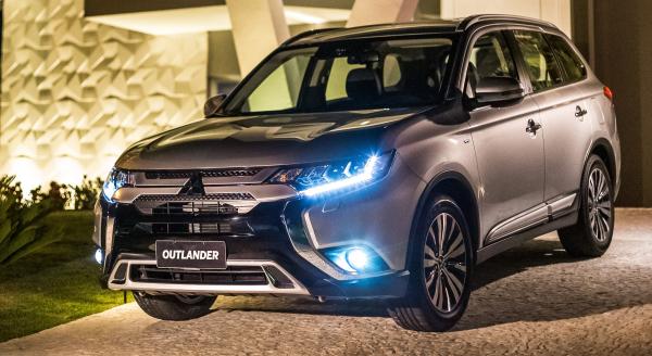 """""""Mitsubishi Outlander 2019: SUV traz visual atualizado e espa\u00e7o de sobra no seu interior"""""""