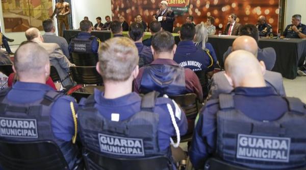 Estatuto do Cons\u00f3rcio das Guardas foi assinado ontem, em Curitiba