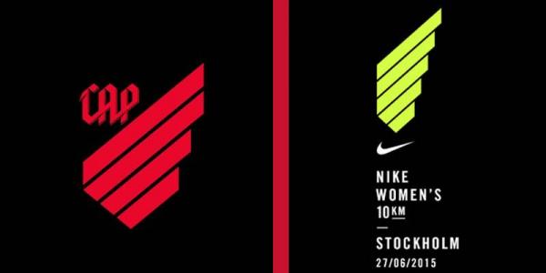 Novo escudo do Atl\u00e9tico e logomarca da Nike de corridas femininas pelo mundo