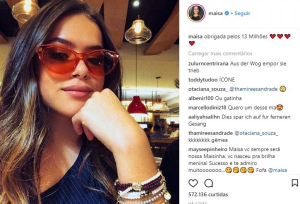 Ma\u00edsa Silva faz desabafo na rede social