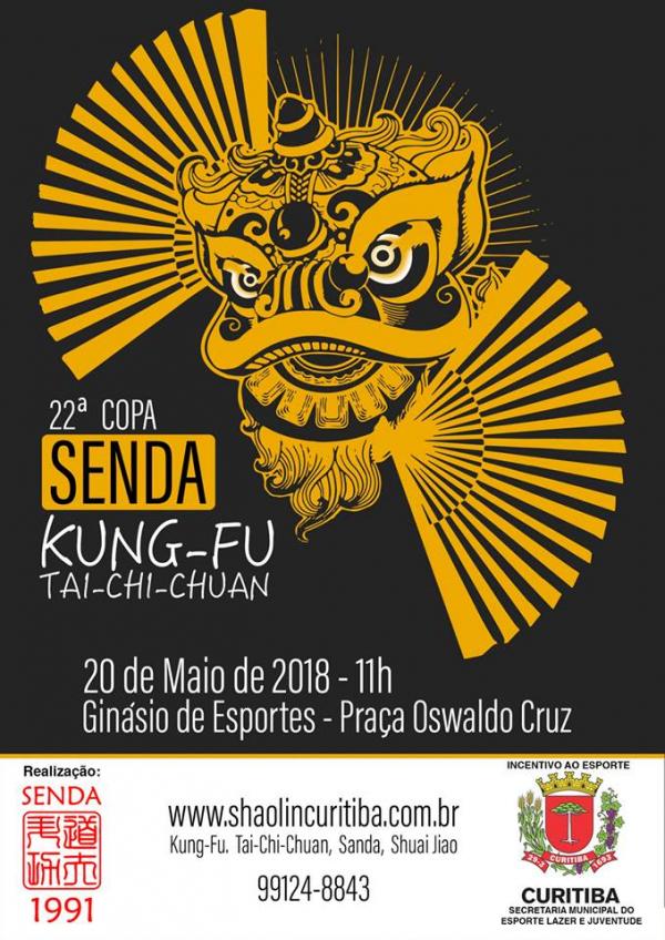 Cartaz da 22\u00aa Copa Senda