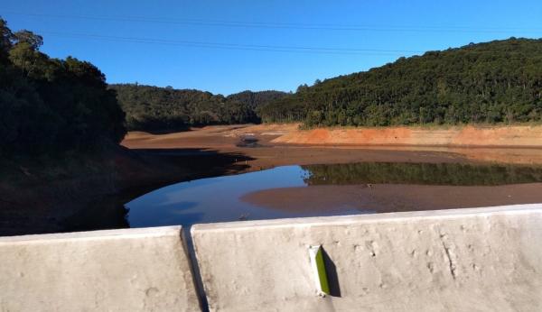 Barragem do Vossoroca sente a falta de chuvas
