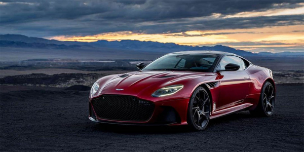 Aston Martin unveils new super car DBS Superleggera