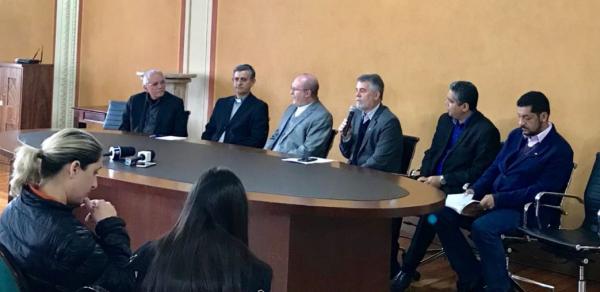 Nesta sexta, lideran\u00e7as religiosas falaram sobre a manifesta\u00e7\u00e3o em coletiva