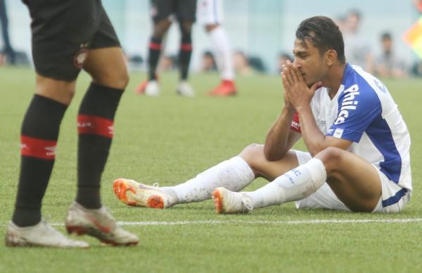 """""""Nadson: jogador do Paran\u00e1 com mais passes para finaliza\u00e7\u00f5es"""""""